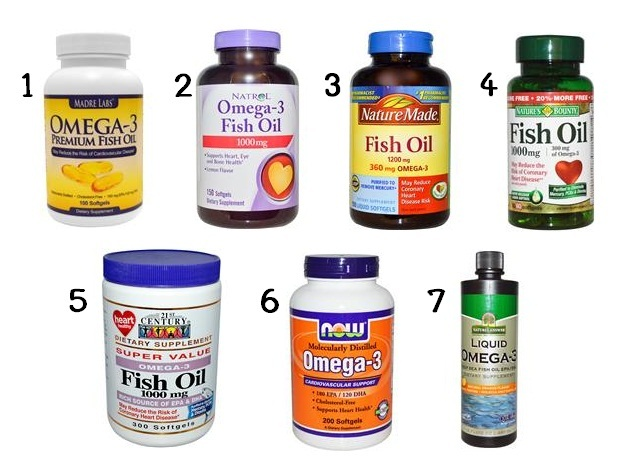รีวิวน้ำมันปลา (Fish Oil)